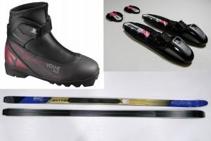 Alpina BC Control 64  Edge grip + Buty Salomon Escepe plus Prolink